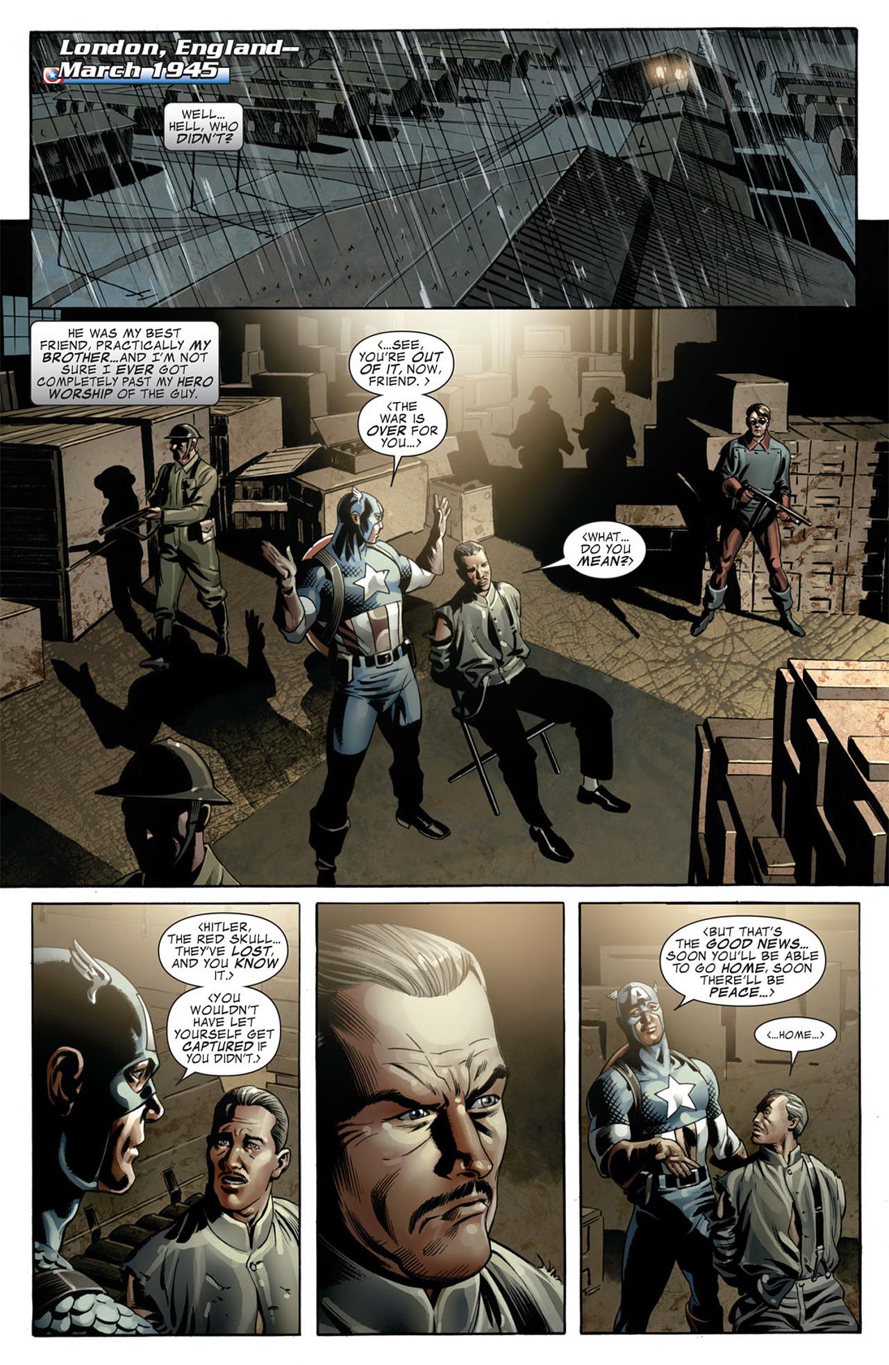 Read online Captain America (2005) comic -  Issue #50 - 16
