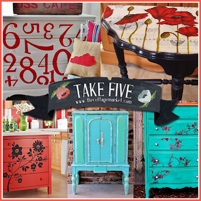 Check out these 5 painted pieces of furniture.