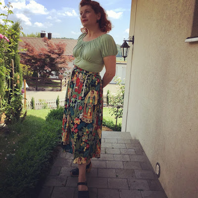 Frida's Garden - My Birthday Skirt