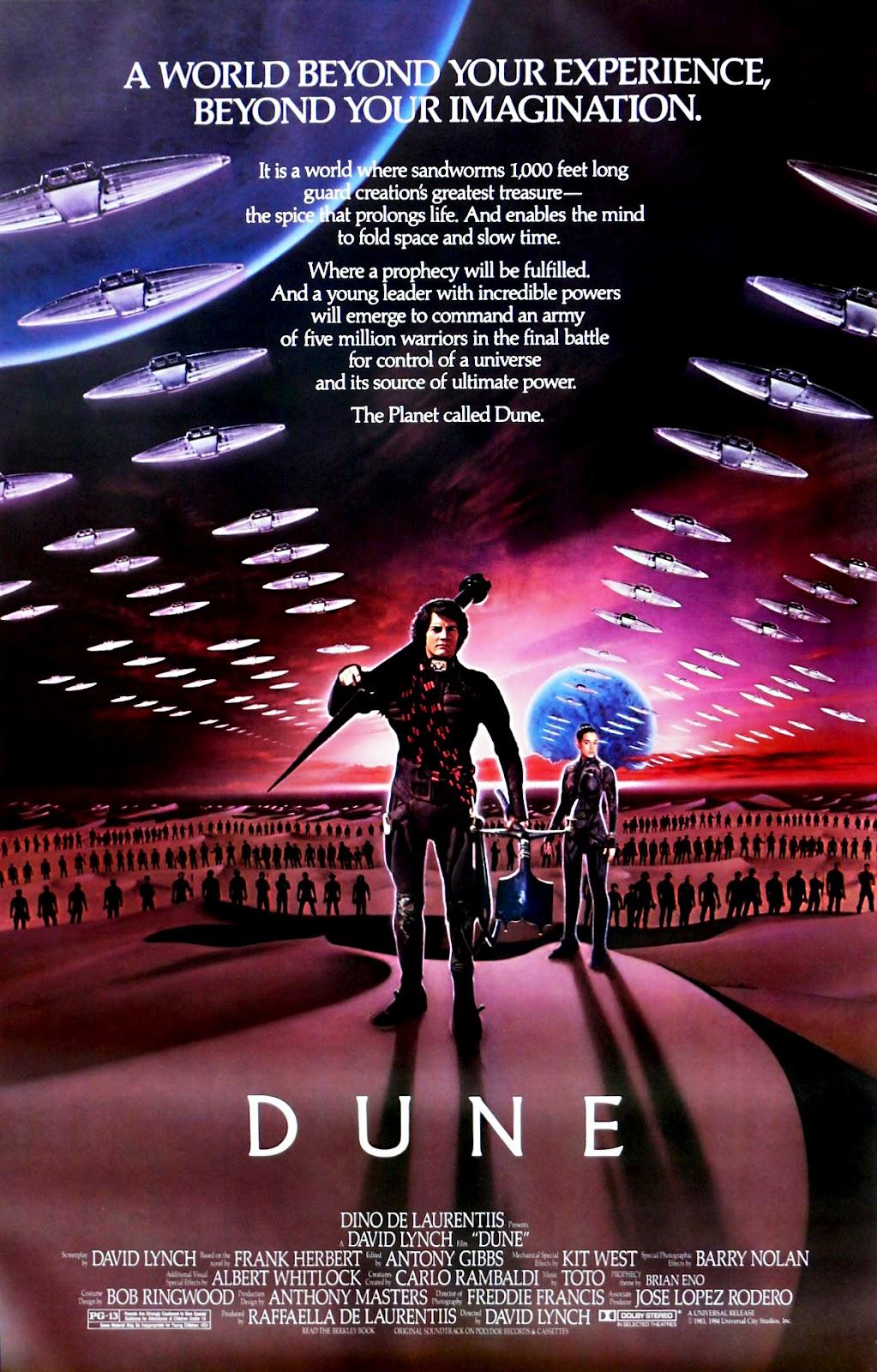 The Geeky Nerfherder Movie Poster Art Dune 1984-3573
