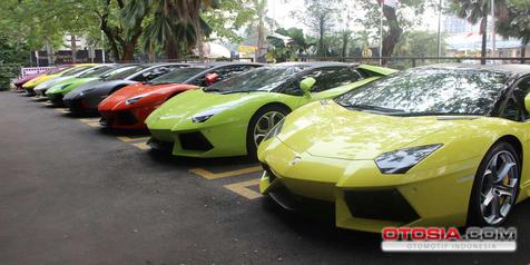 Ditahan Polisi, Lamborghini Diurus Dealer