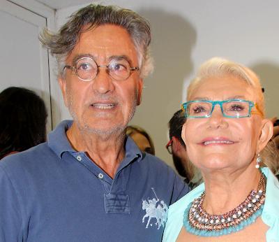Η Μαρινέλλα και ο Νίκος Γαλανός απόλαυσαν τον Τάκη Ζαχαράτο στην παράσταση «I am what I am (The comeback)» στο Κηποθέατρο Παπάγου στην Αττική, την Παρασκευή 15 Ιουλίου 2016.