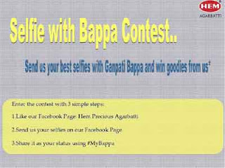 selfie with Bappa contest
