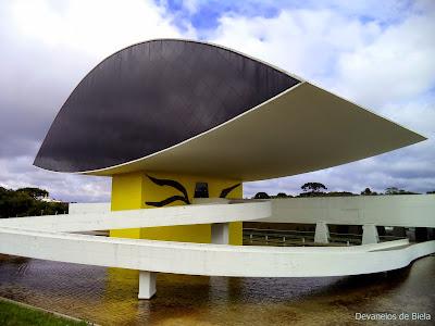 Museu Oscar Niemeyer Curitiba