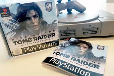Το Rise of the Tomb Raider σε PS1 case (που όμως δεν μπορείς να αγοράσεις) 1