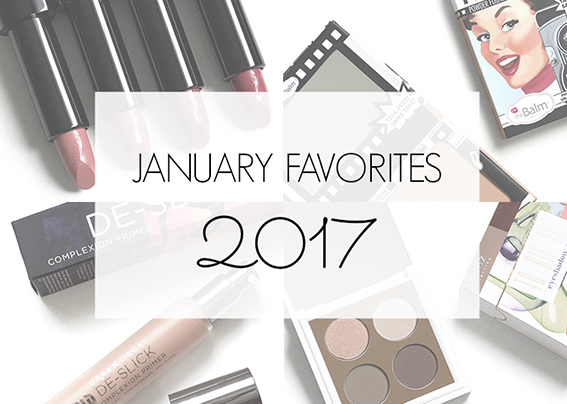 January Favorites 2017