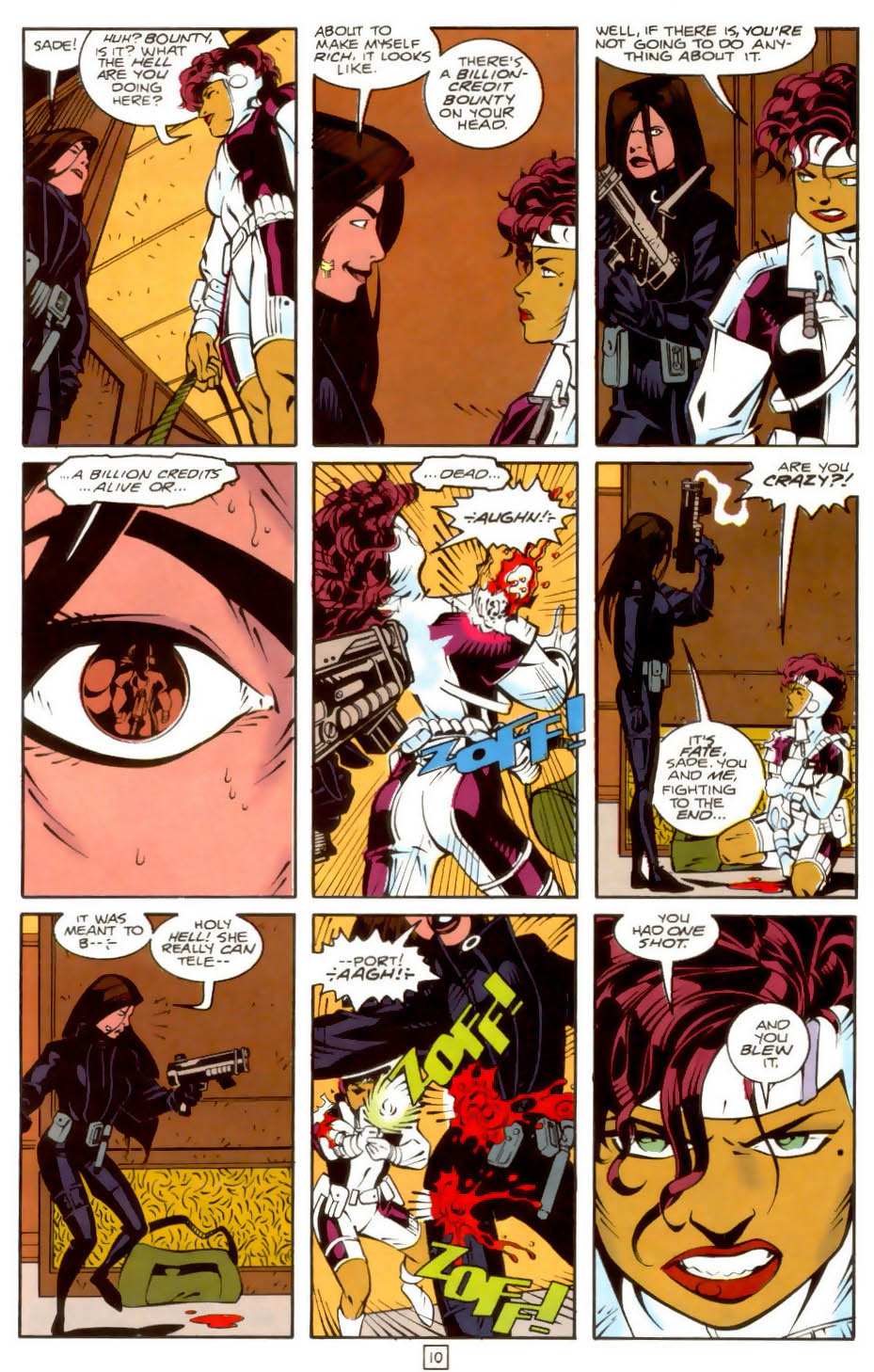 Legion of Super-Heroes (1989) 36 Page 10