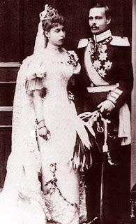 Ernest Louis de Hesse et du Rhin 1868-1937 et Victoria Melita de Saxe-Cobourg et Gotha 1876-1936
