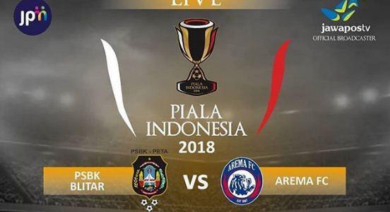 Hasil Piala Indonesia: Arema FC Kalahkan PSBK Blitar