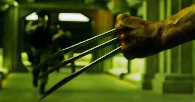 Escena de Wolverine durante X-Men: Apocalypse