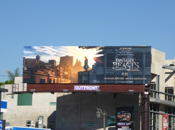 Fantastic Beasts billboard