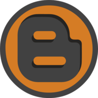 blogger icon outline
