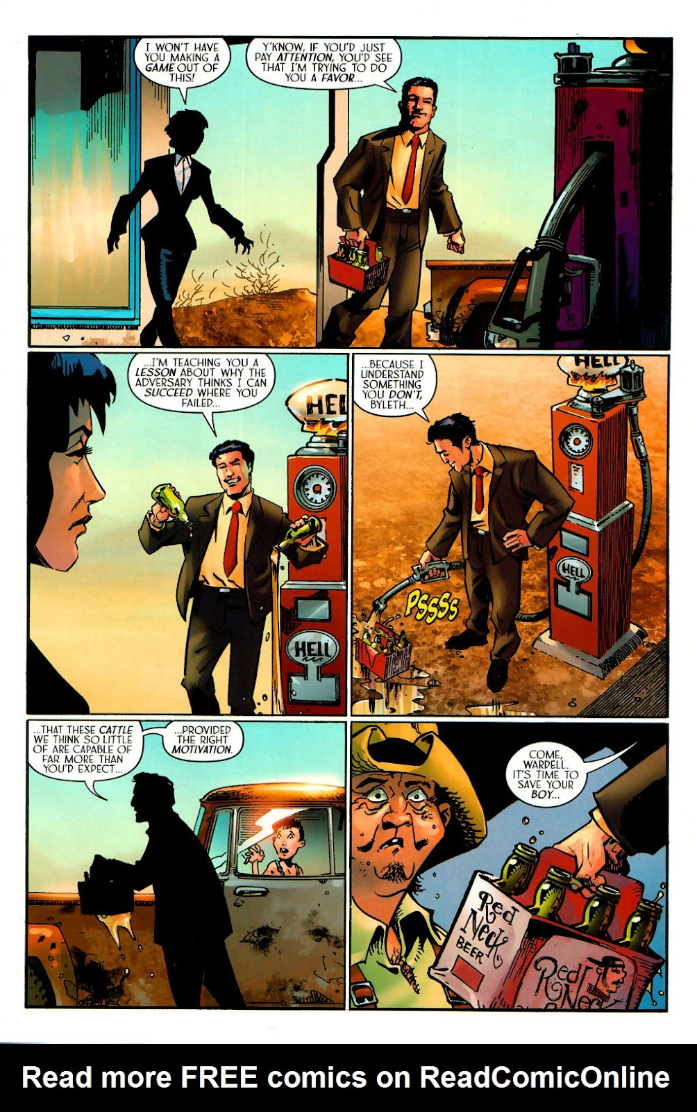 Read online Route 666 comic -  Issue #15 - 12