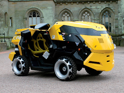 Judge Dredd Land Rover City CABs