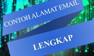 5 Contoh Alamat Email Lengkap