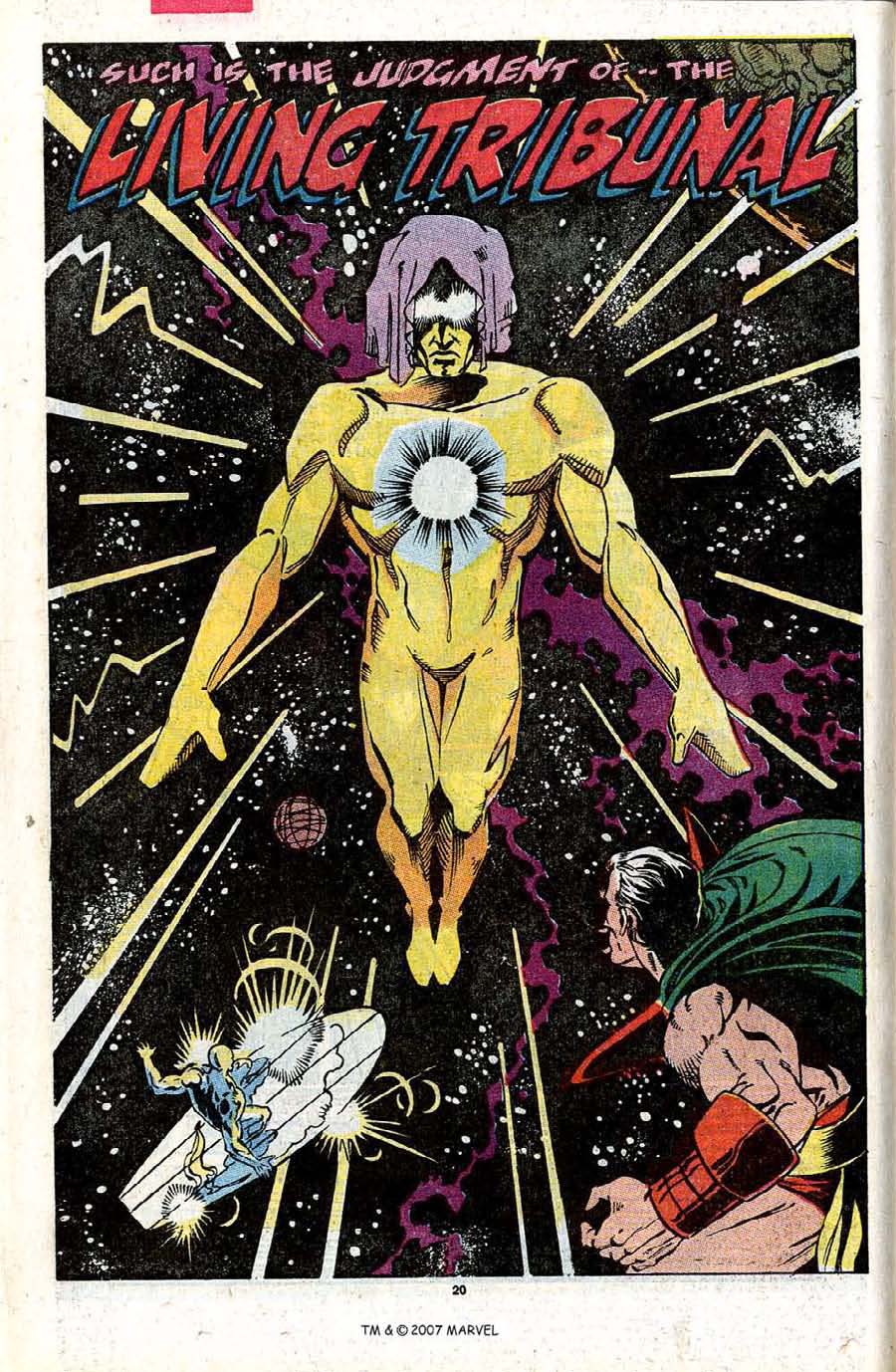 Read online Silver Surfer (1987) comic -  Issue #31 - 22