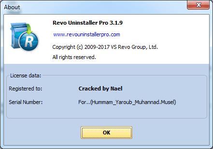 revo uninstaller crack 3.1.9