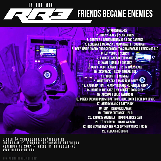 WITH NO INTRODUCTION, COMPLETE THE TRILOGY. RR3 | FRIENDS BECAME ENEMIES - IN THE MIX | NOW ONLINE.