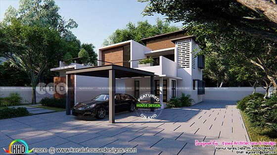 Rs.55 - 62 Lakhs cost estimated contemporary home