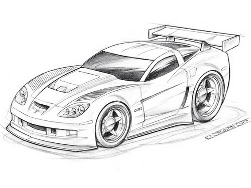 Draw Fast Cars Quickly   Racing Cars   Street Racing Cars
