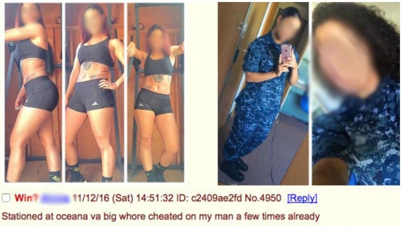 Pose seksi tentara wanita AS yang diunggah di AnonIB
