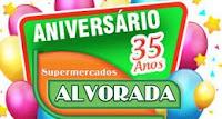 Promoção de Aniversário Supermercados Alvorada 35 Anos