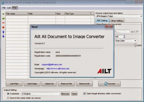 Ailt All Document to Image Converter