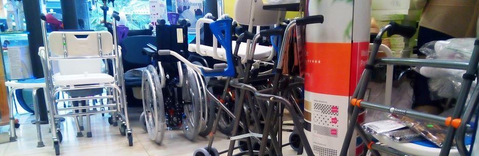 Sillas de ruedas en Logroño