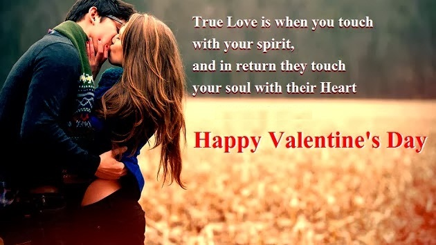 Happy Valentine's Day SMS Message for Him Whatsapp Status DP