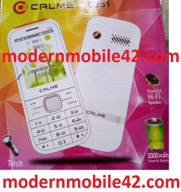 calme c251 flash file download