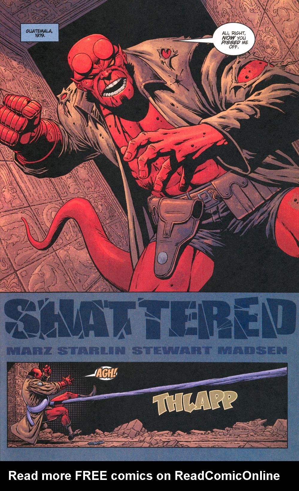 Read online Hellboy: Weird Tales comic -  Issue #5 - 19