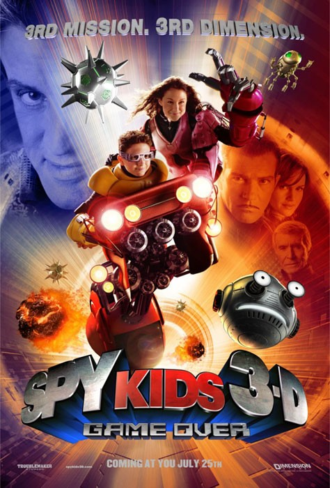 Spy Kids 3-D-Game Over
