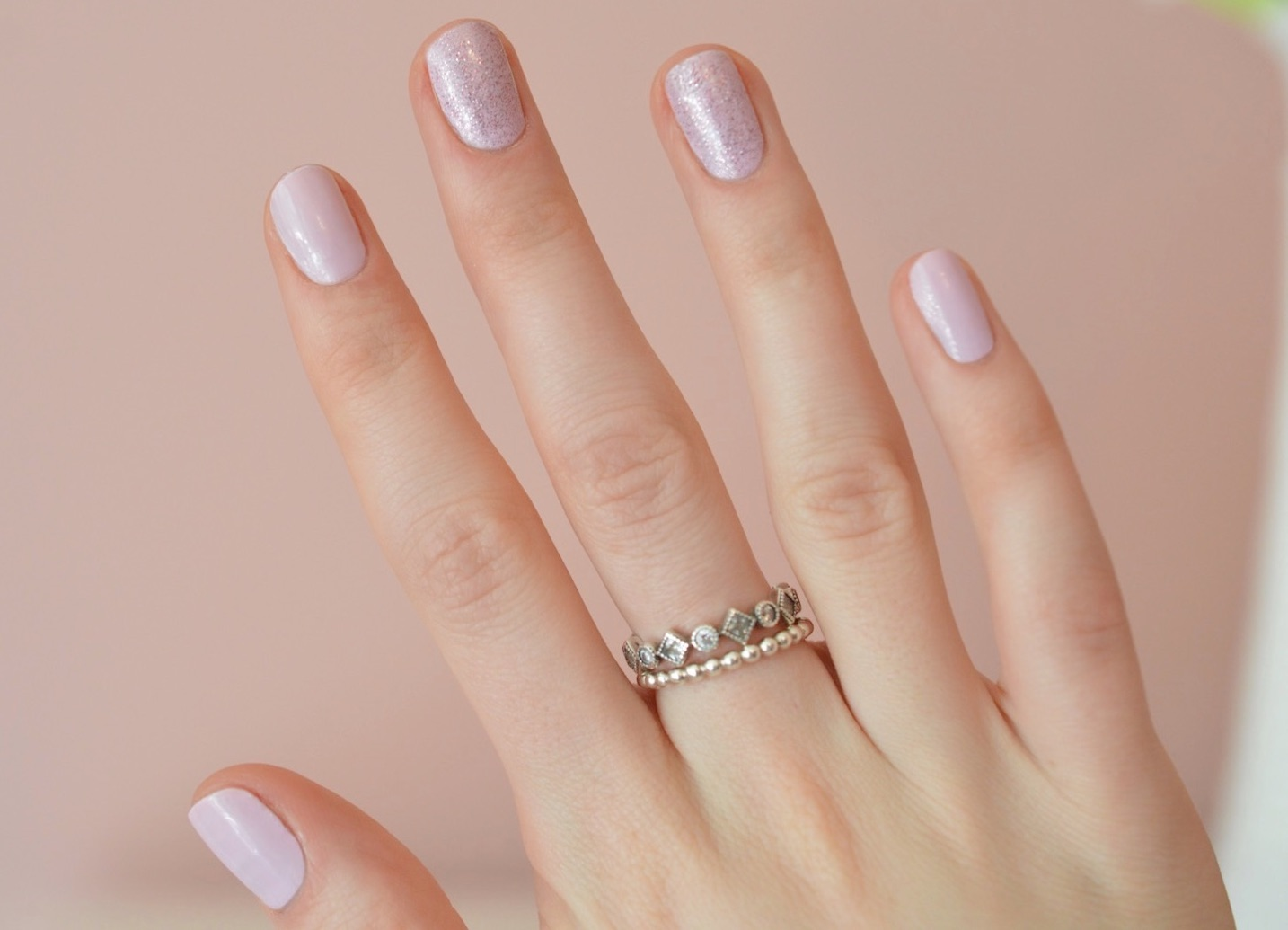 essence pink polish