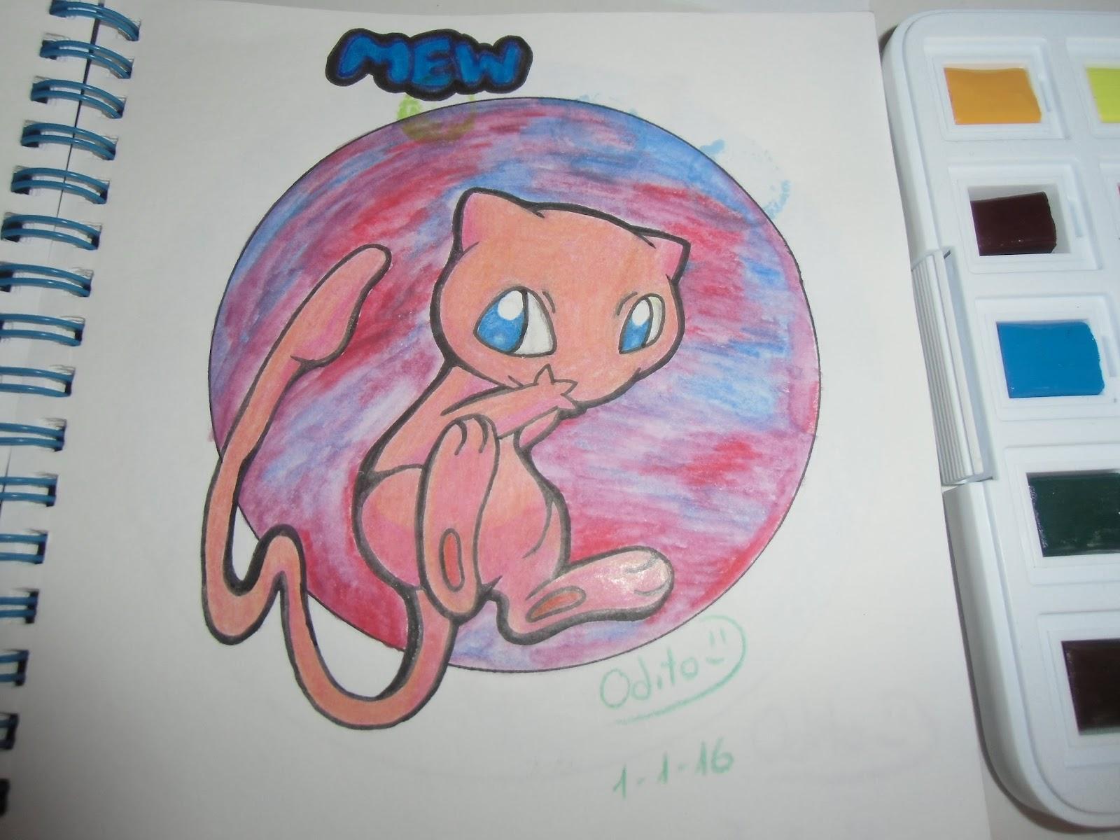 Dibujos De Pokemon A Color