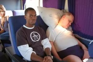 Sommeil dans l'avion