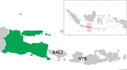Peta Provinsi Jawa Timur