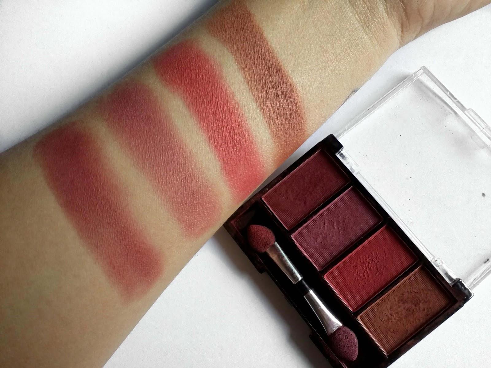 Quarteto de cores quentes Playboy Beauty