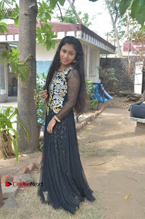 Tamil Actress Shreya Sri Stills in Black Akarkali Dress at Vanga Vanga Team Interview  0022.jpg