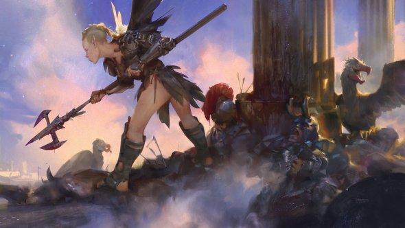 Halil Ural artstation deviantart arte ilustrações pinturas digitais fantasia ficção