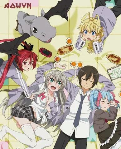 AowVN.org m%2B%25281%2529 - [ Anime 3gp Mp4 ] Haiyore! Nyaruko-San 1 + 2 + OVA | Vietsub - Harem hài bựa hay
