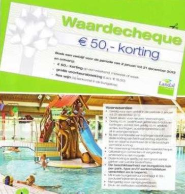 Wonderbaarlijk Landal in het nieuws: Kerstbon in Makro kerstpakketten RU-03