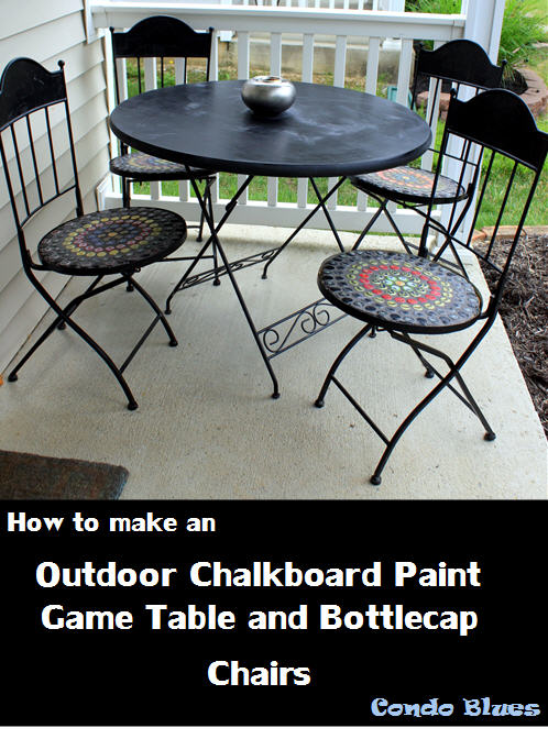 Fresh Outdoor Game Table Tutorial