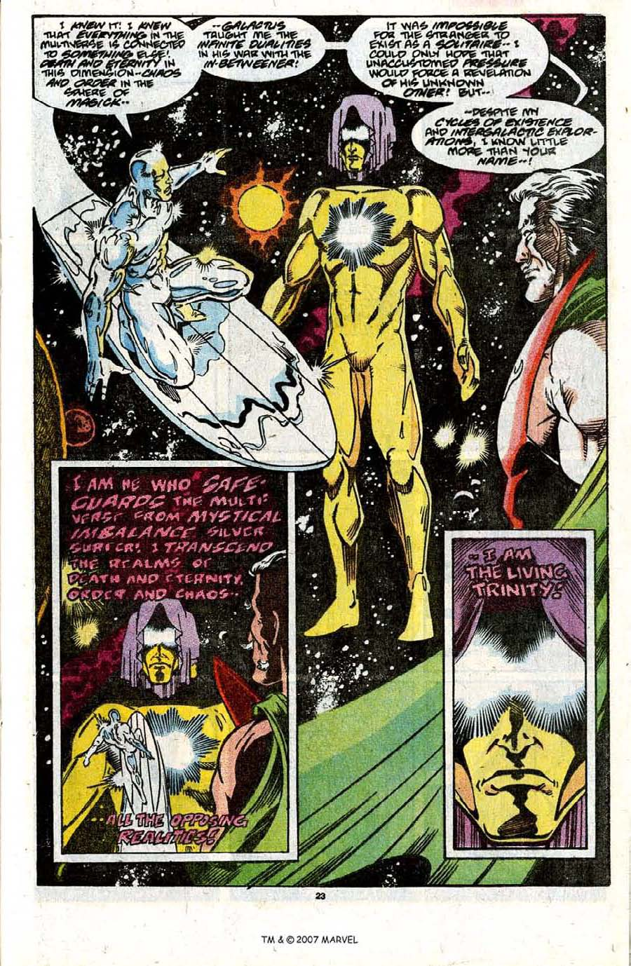 Read online Silver Surfer (1987) comic -  Issue #31 - 25
