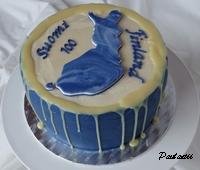 Suomi100-kakku