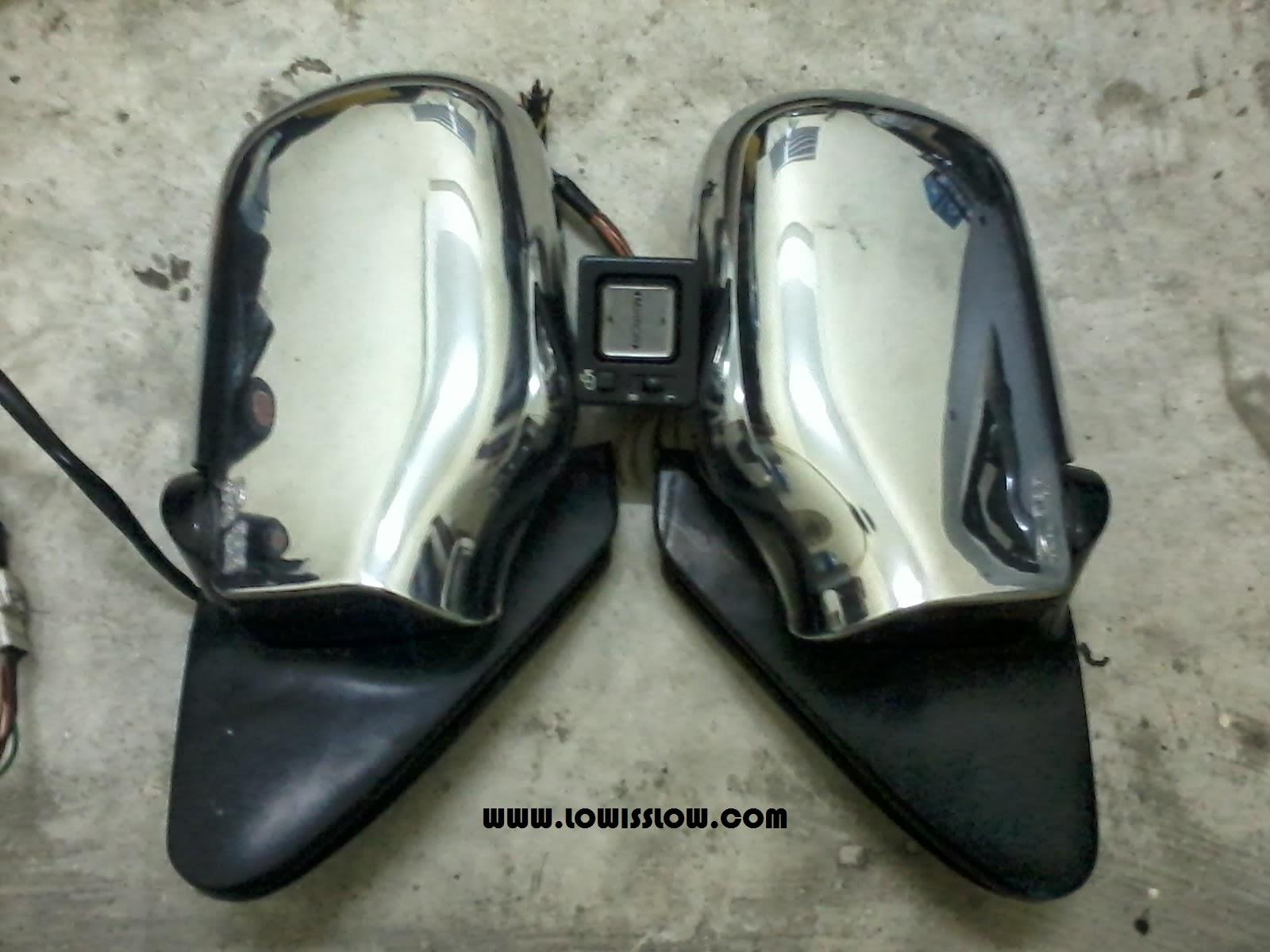 LIFE WITH MACHINE: DIY: Perodua Kancil Auto Flip Side Mirror (Wiring)