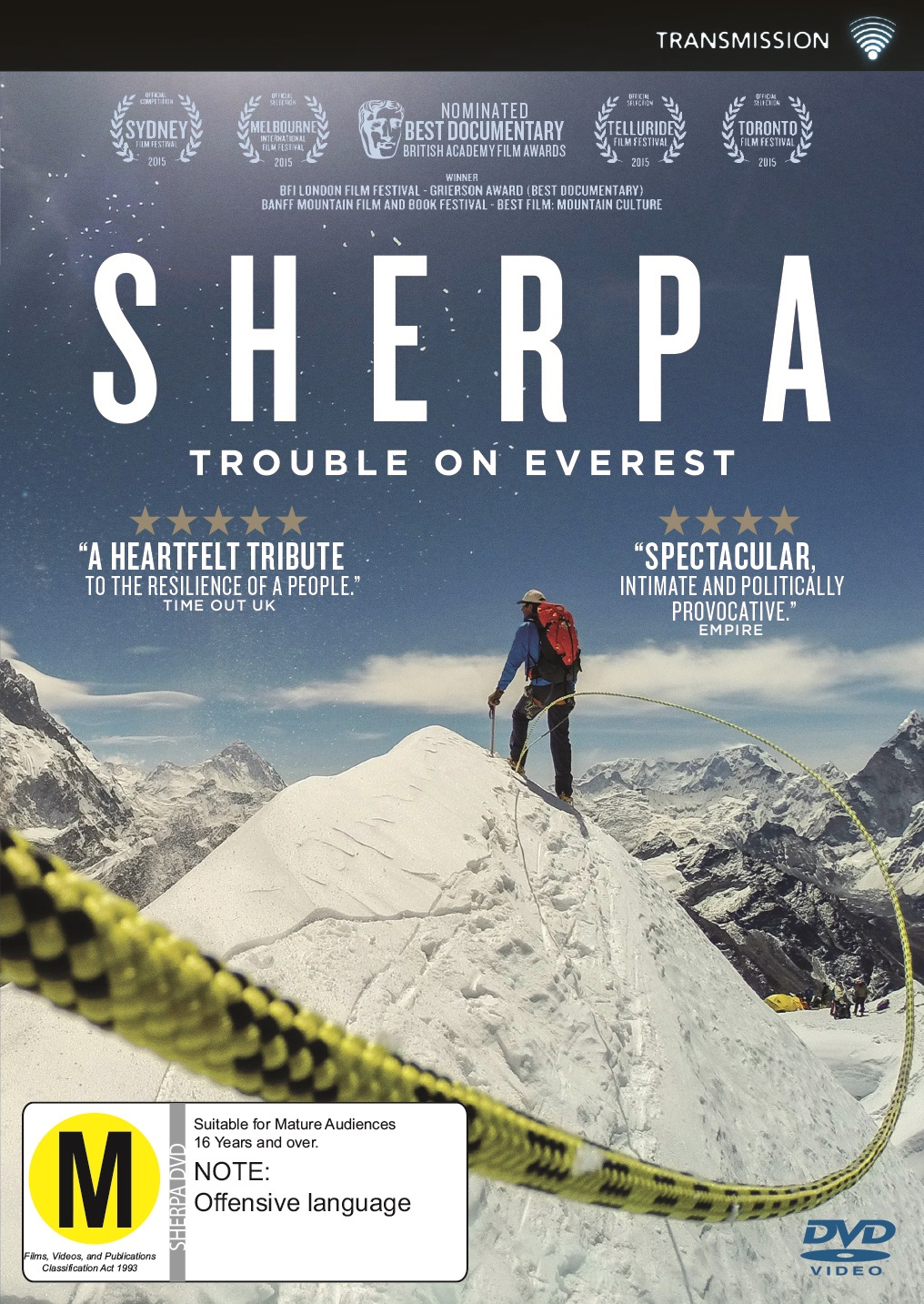 At Darren's World of Entertainment: Sherpa: DVD Review