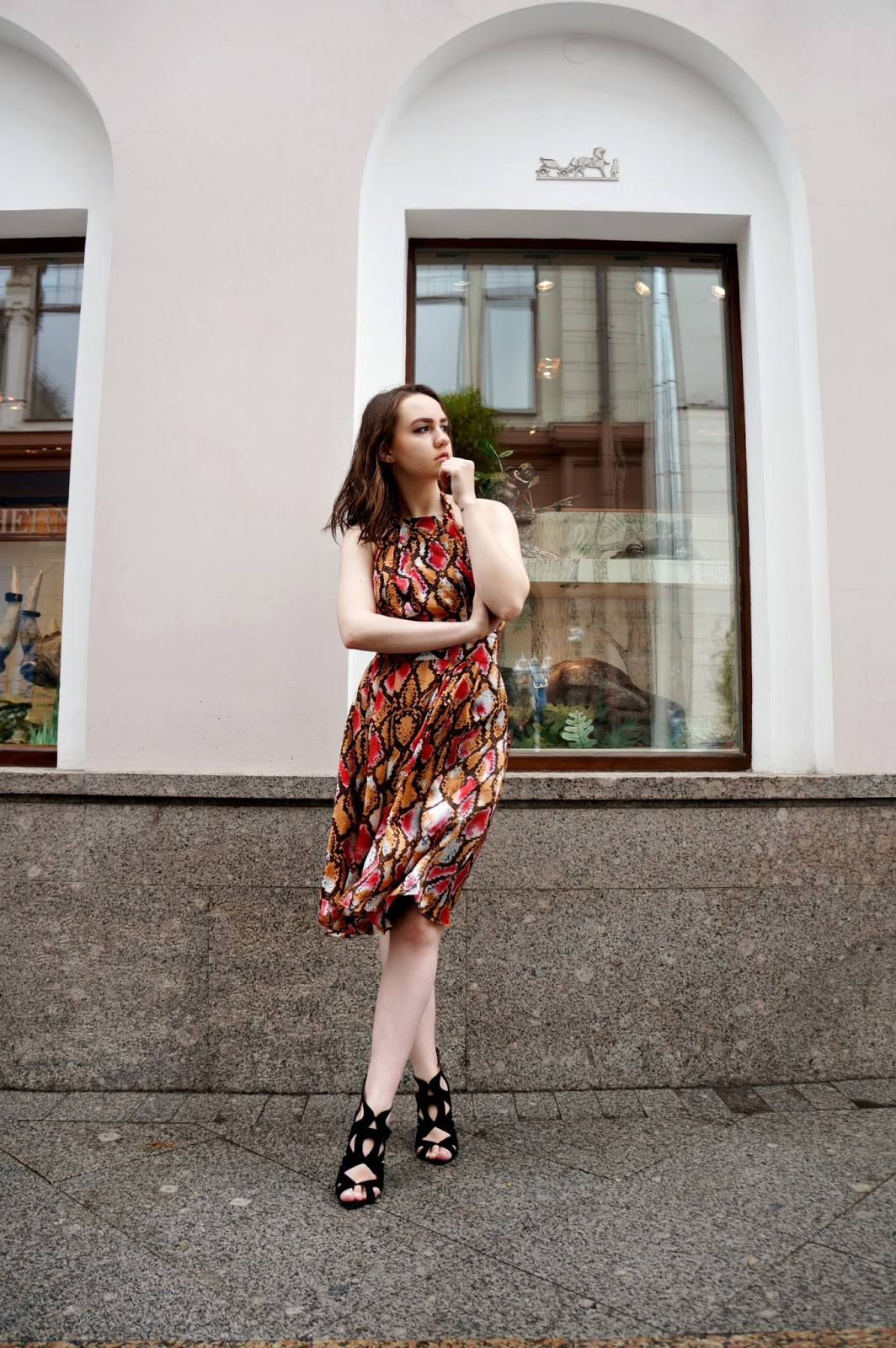 Print Dress | Fashion Blogger