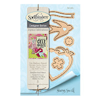Spellbinders Joyous Celebrations - Swallow & Heart