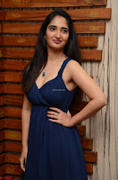 Radhika Mehrotra in a Deep neck Sleeveless Blue Dress at Mirchi Music Awards South 2017 ~  Exclusive Celebrities Galleries 043.jpg
