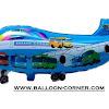 Balon Foil Karakter Pesawat Motif TAYO